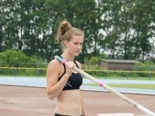 Femke Pluim - T-Meeting 2014 - Atletiek