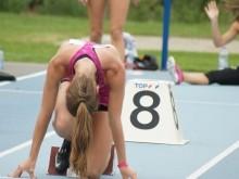 Sarah Missinne - T-Meeting 2014 - Atletiek