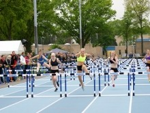 Marije van Hunenstijn - T-Meeting 2013 - Atletiek